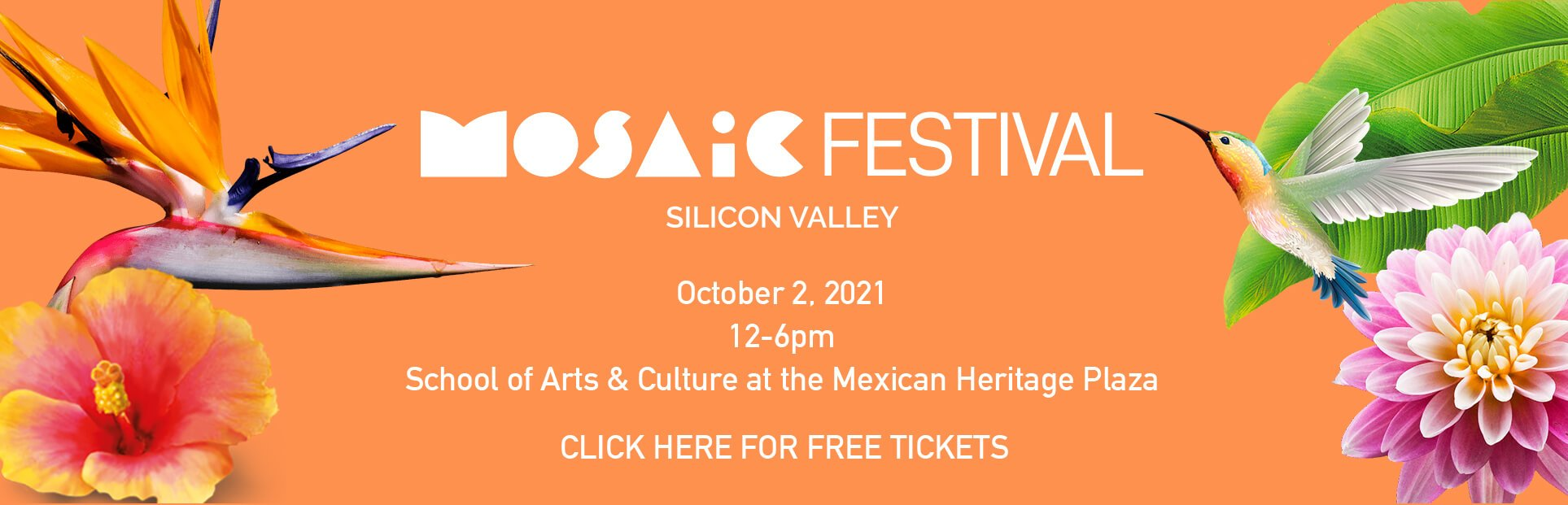 Mosaic Festival - Oct 2, 2021